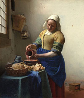the-milkmaid-by-vermeer